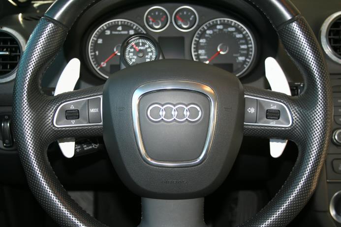 Audi paddle details